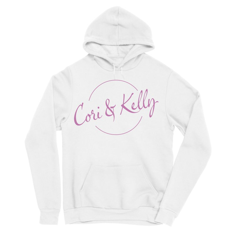 Pink Logo Women's Sponge Fleece Pullover Hoody by Cori & Kelly Official Merchandise