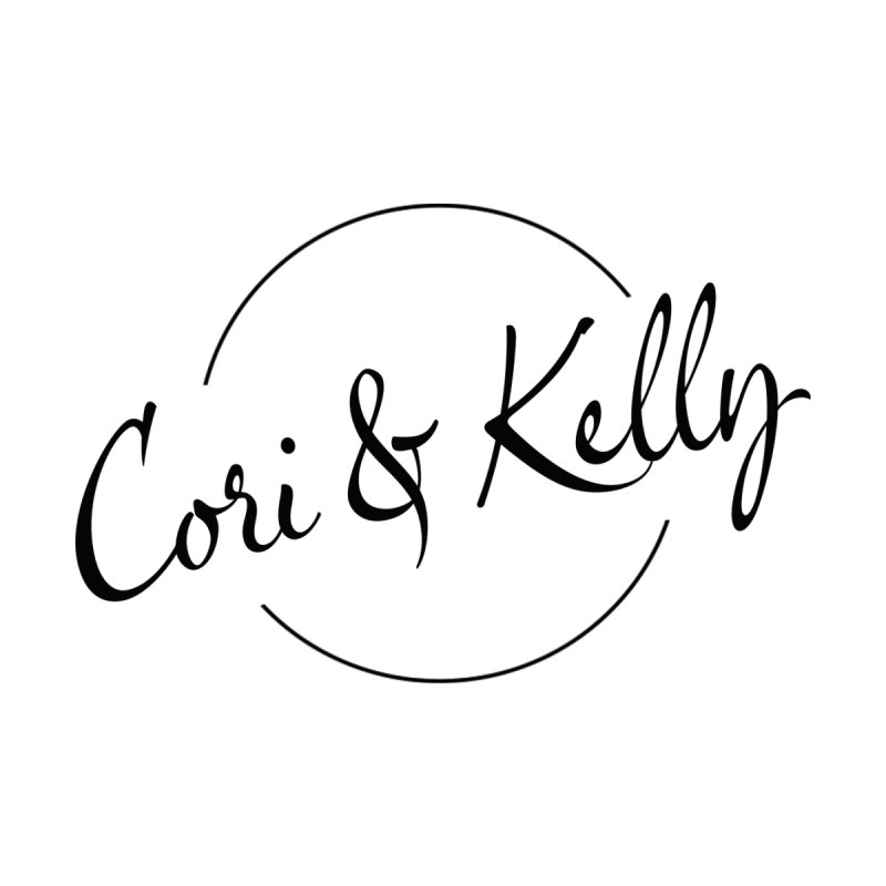 Black Logo Kids Toddler T-Shirt by Cori & Kelly Official Merchandise