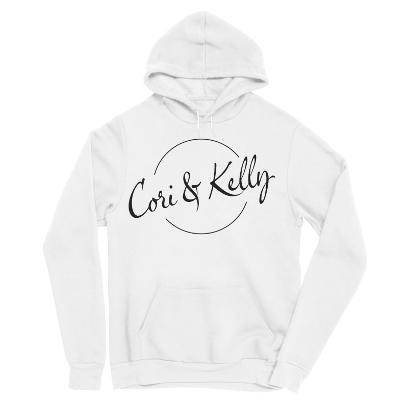 Black Logo Women's Sponge Fleece Pullover Hoody by Cori & Kelly Official Merchandise