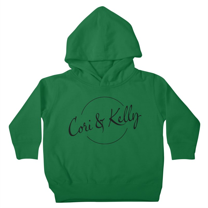 Black Logo Kids Toddler Pullover Hoody by Cori & Kelly Official Merchandise