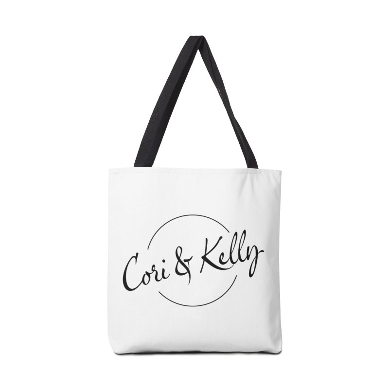 Black Logo Accessories Bag by Cori & Kelly Official Merchandise