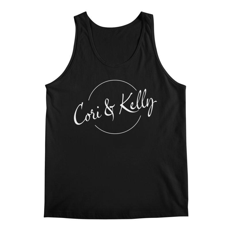 White Logo Men's Regular Tank by Cori & Kelly Official Merchandise