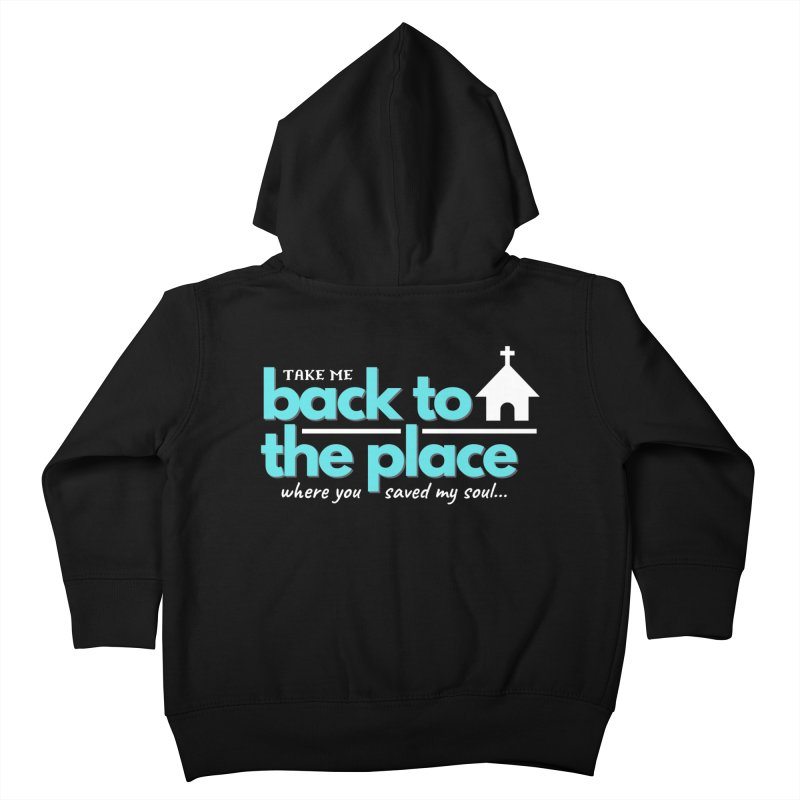 Back to The Place Kids Toddler Zip-Up Hoody by Cori & Kelly Official Merchandise