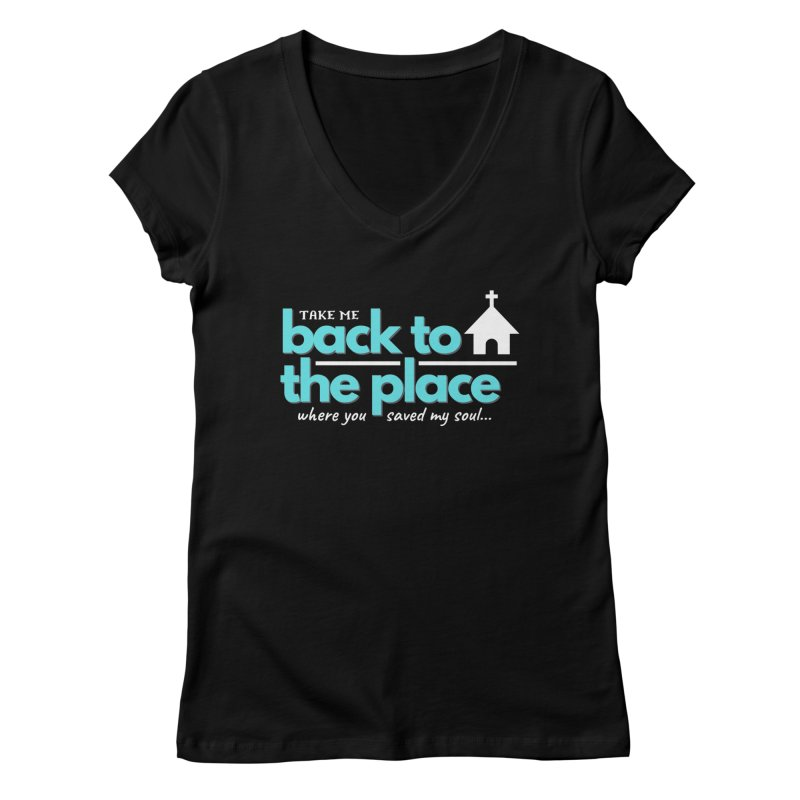 Back to The Place Women's V-Neck by Cori & Kelly Official Merchandise