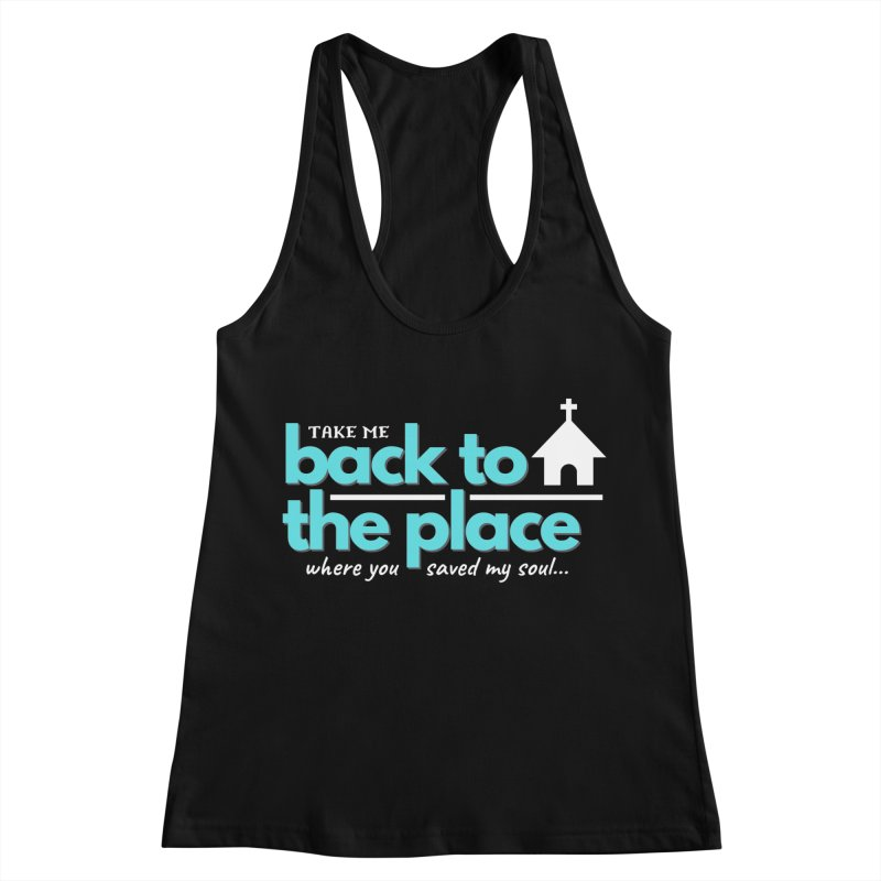 Back to The Place Women's Racerback Tank by Cori & Kelly Official Merchandise