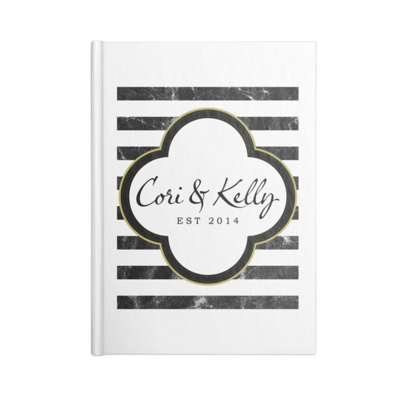 Cori & Kelly EST Accessories Blank Journal Notebook by Cori & Kelly Official Merchandise