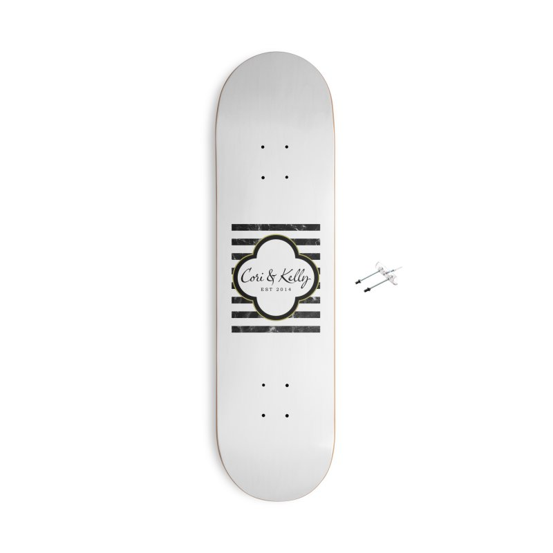 Cori & Kelly EST Accessories With Hanging Hardware Skateboard by Cori & Kelly Official Merchandise