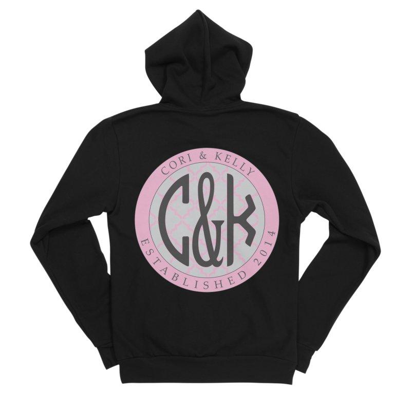 C&K Monogram Women's Sponge Fleece Zip-Up Hoody by Cori & Kelly Official Merchandise