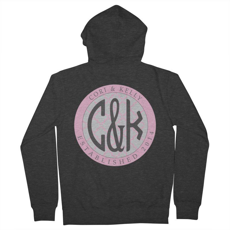 C&K Monogram Women's French Terry Zip-Up Hoody by Cori & Kelly Official Merchandise