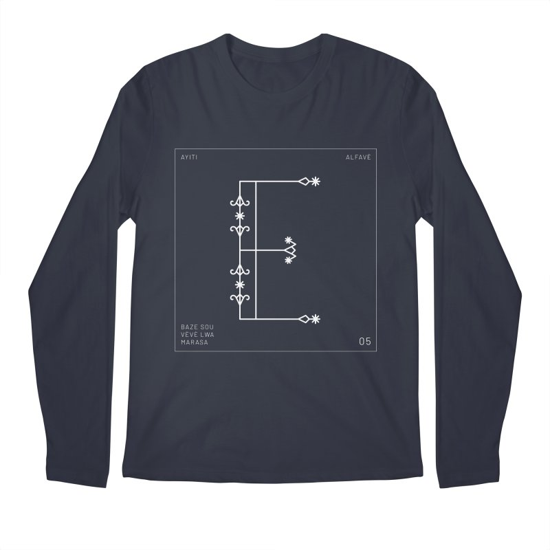 E | Alfavè Men's Longsleeve T-Shirt by Corine Bond's Shop