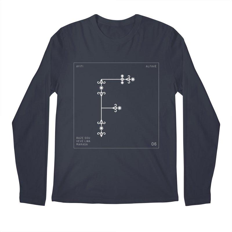 F | Alfavè Men's Longsleeve T-Shirt by Corine Bond's Shop