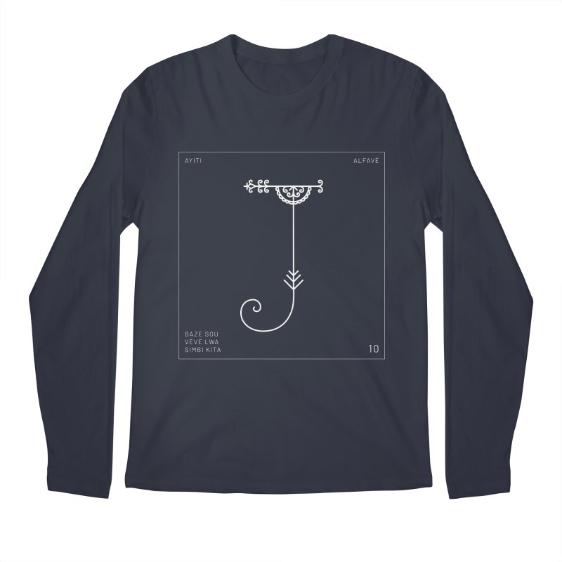 J | Alfavè Men's Longsleeve T-Shirt by Corine Bond's Shop