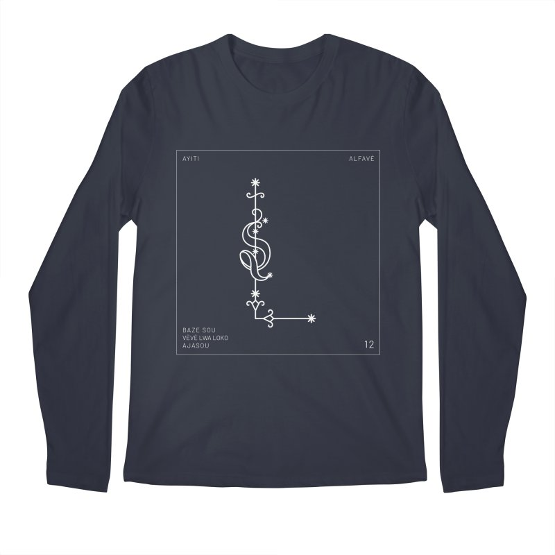 L | Alfavè Men's Longsleeve T-Shirt by Corine Bond's Shop