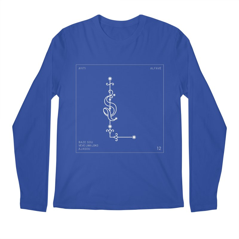 L | Alfavè Men's Longsleeve T-Shirt by Corine Bond's Shop