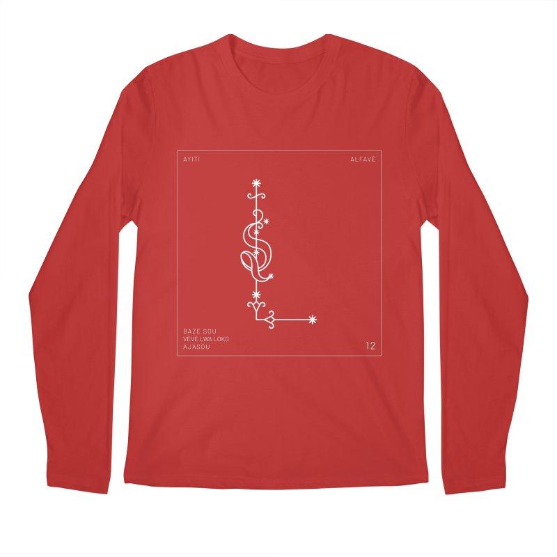 L   Alfavè Men's Longsleeve T-Shirt by Corine Bond's Shop