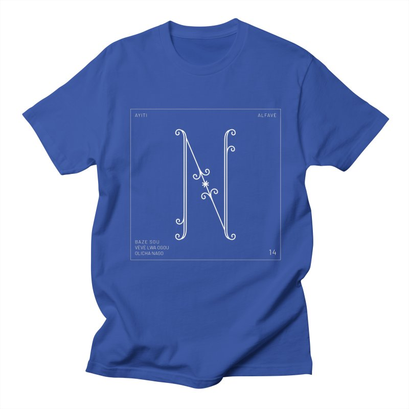 N | Alfavè Men's T-Shirt by Corine Bond's Shop