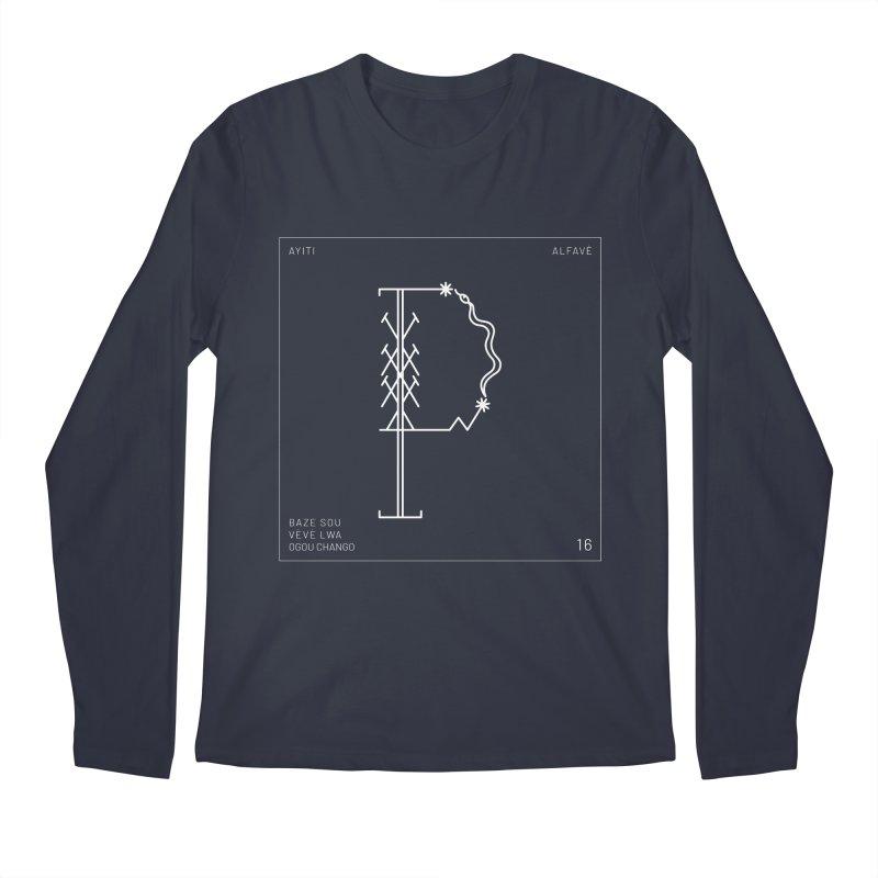P | Alfavè Men's Longsleeve T-Shirt by Corine Bond's Shop