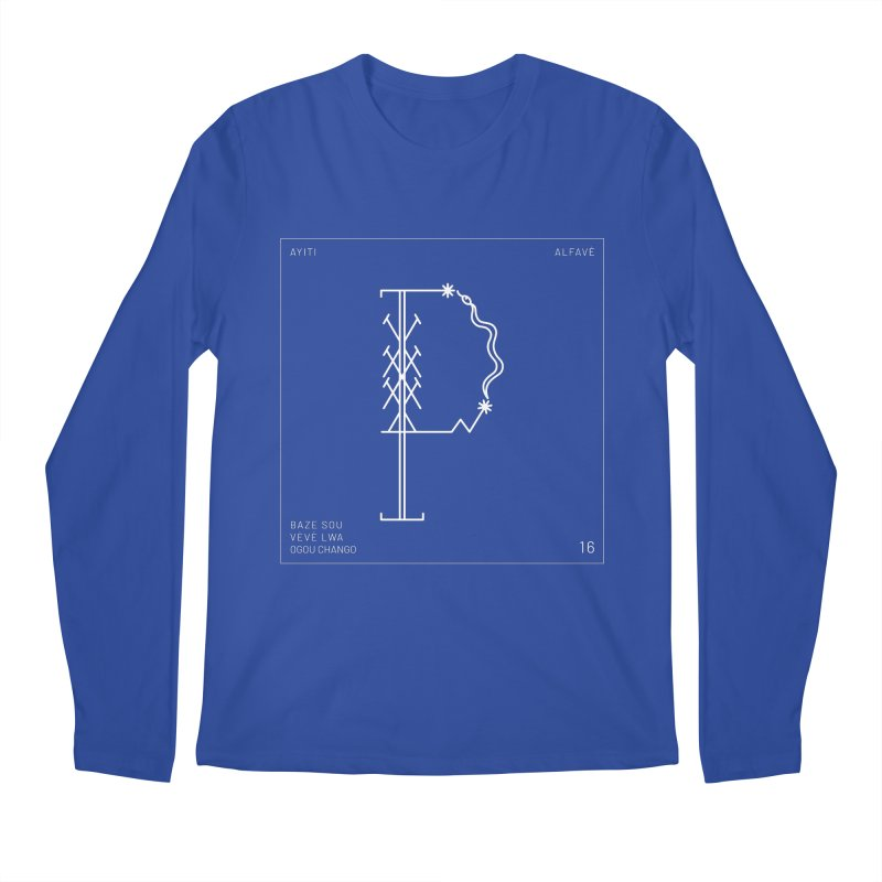 P | Alfavè Men's Longsleeve T-Shirt by Corine Bond's Shop