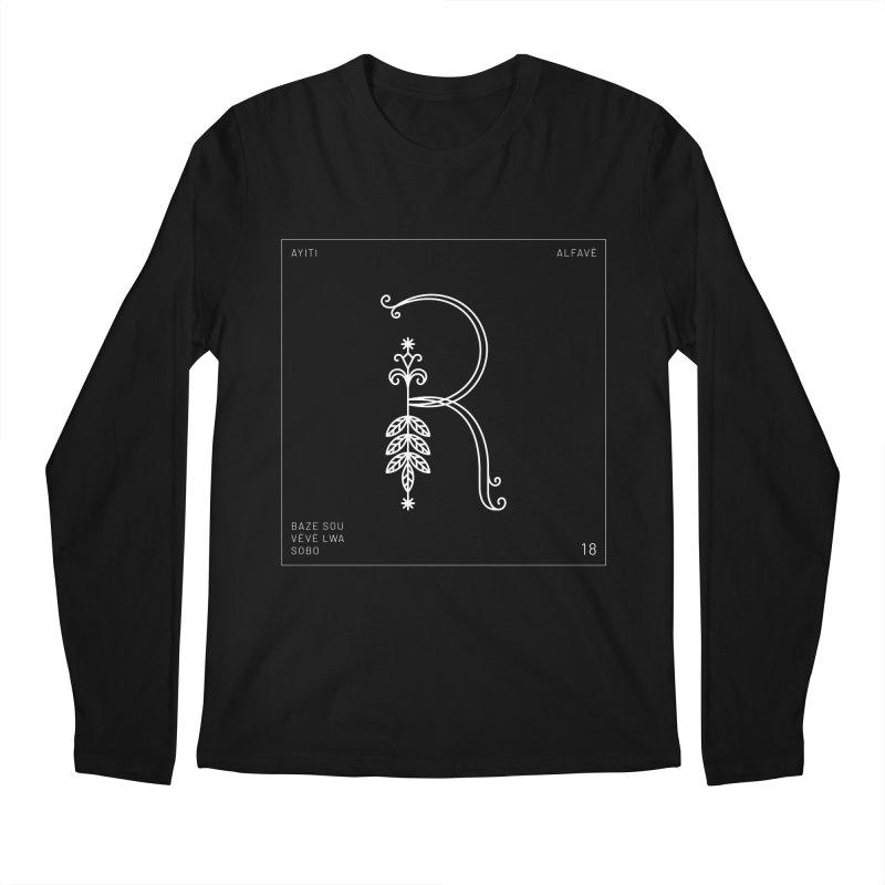 R | Alfavè Men's Longsleeve T-Shirt by Corine Bond's Shop