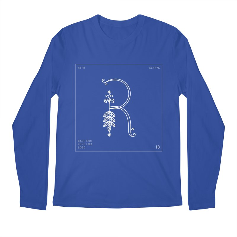 R | Alfavè Men's Longsleeve T-Shirt by Corine Bond's Shop