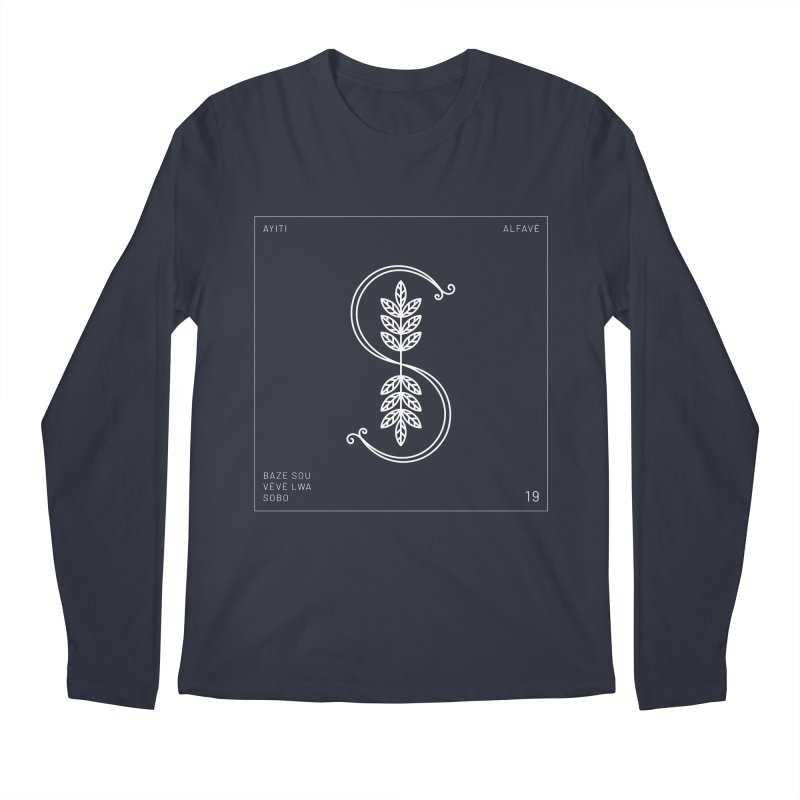 S | Alfavè Men's Longsleeve T-Shirt by Corine Bond's Shop