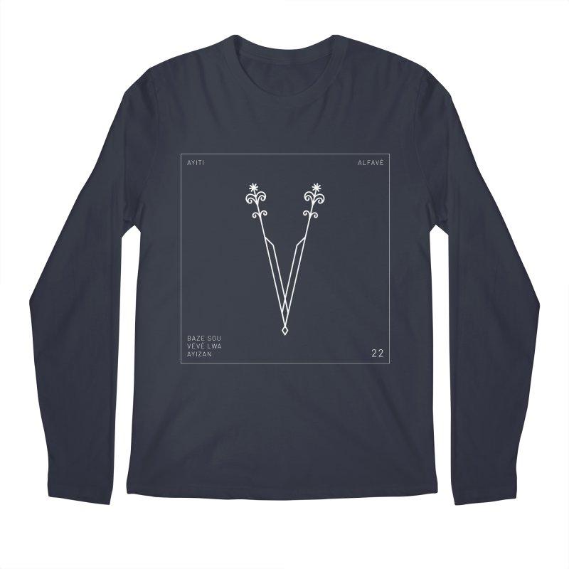 V | Alfavè Men's Longsleeve T-Shirt by Corine Bond's Shop