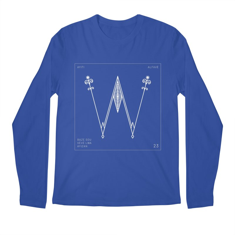 W | Alfavè Men's Longsleeve T-Shirt by Corine Bond's Shop