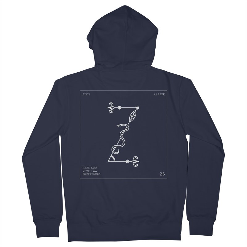 Z | Alfavè Men's Zip-Up Hoody by Corine Bond's Shop