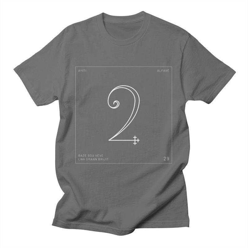 Number 2   Alfavè Men's T-Shirt by Corine Bond's Shop