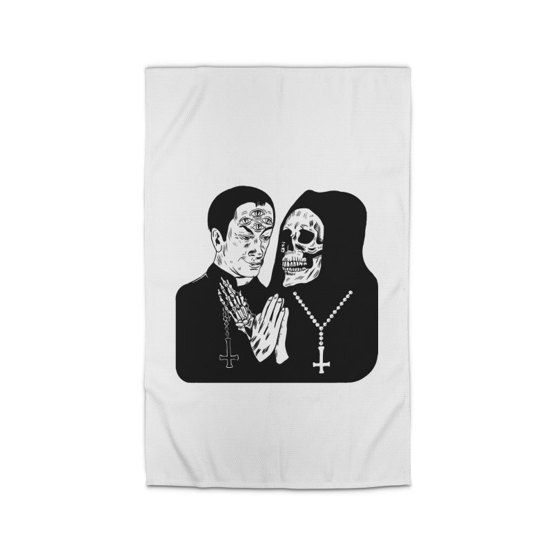 Evil Priest Home Rug by Hate Baby Comix Artist Shop