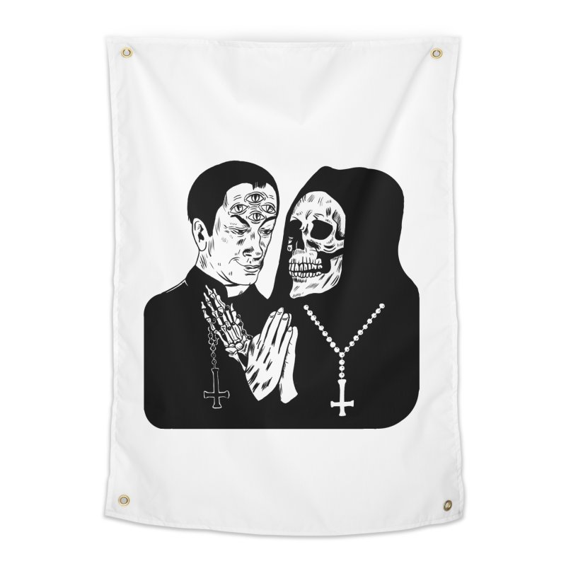 Evil Priest Home Tapestry by Hate Baby Comix Artist Shop