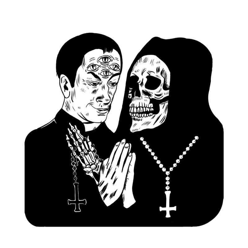 Evil Priest by Hate Baby Artist Shop