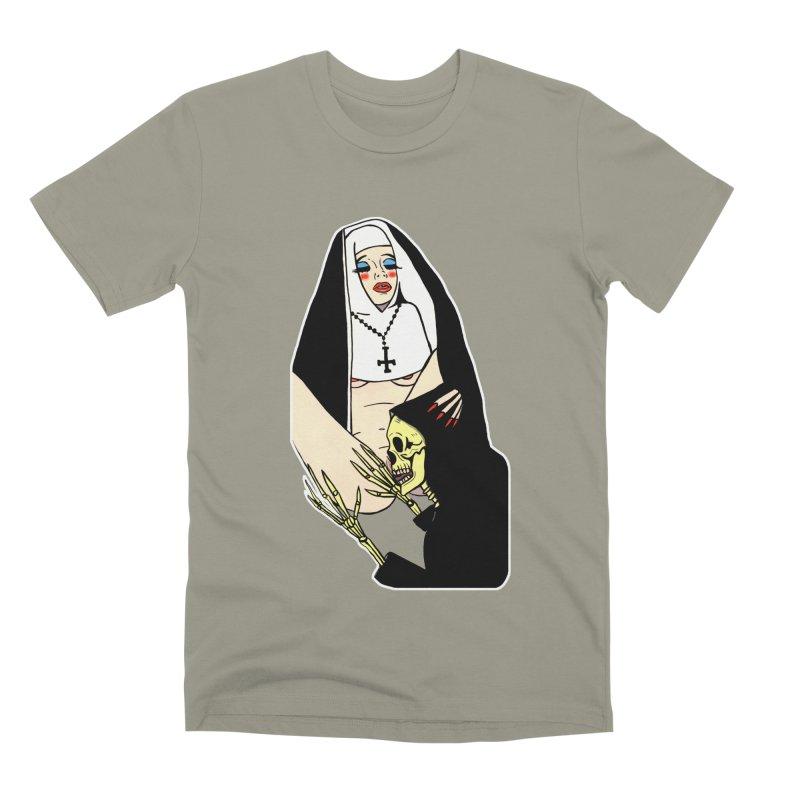 DEATH LICK Men's Premium T-Shirt by Hate Baby Comix Artist Shop