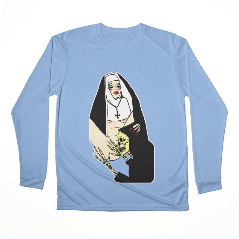 DEATH LICK Men's Performance Longsleeve T-Shirt by Hate Baby Comix Artist Shop