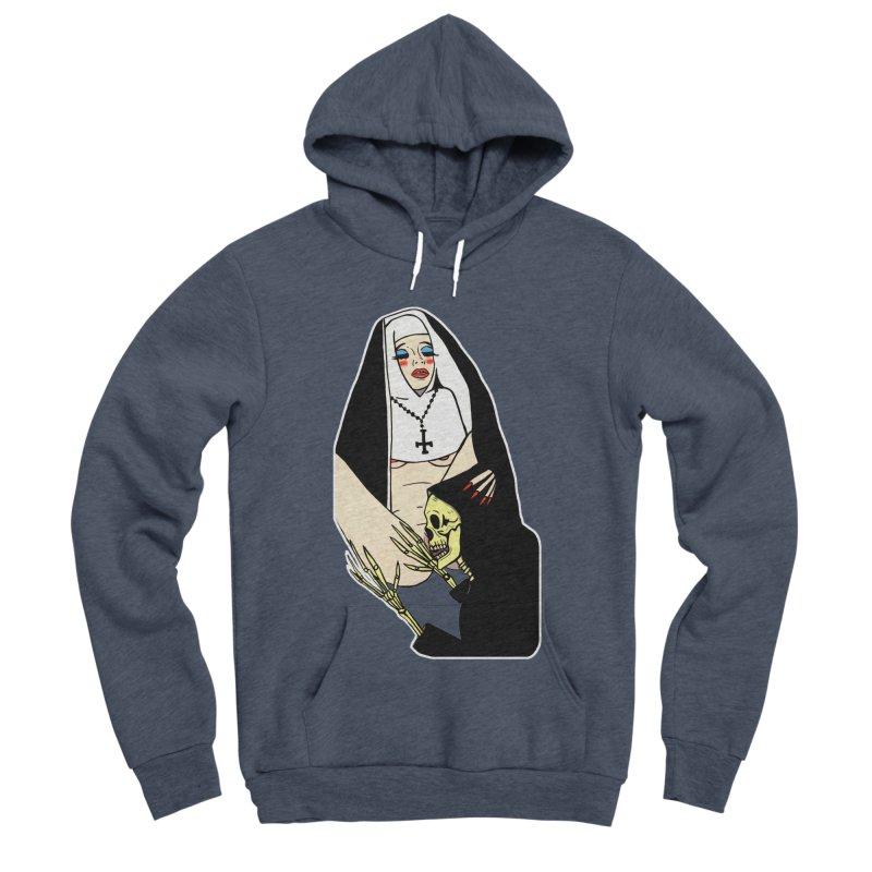 DEATH LICK Women's Sponge Fleece Pullover Hoody by Hate Baby Comix Artist Shop