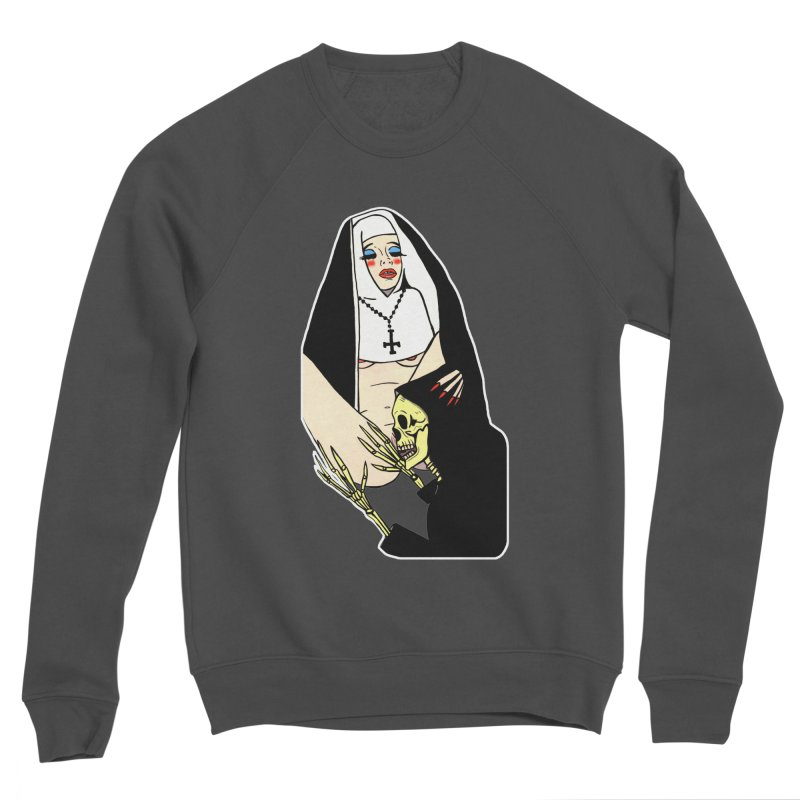 DEATH LICK Men's Sponge Fleece Sweatshirt by Hate Baby Comix Artist Shop