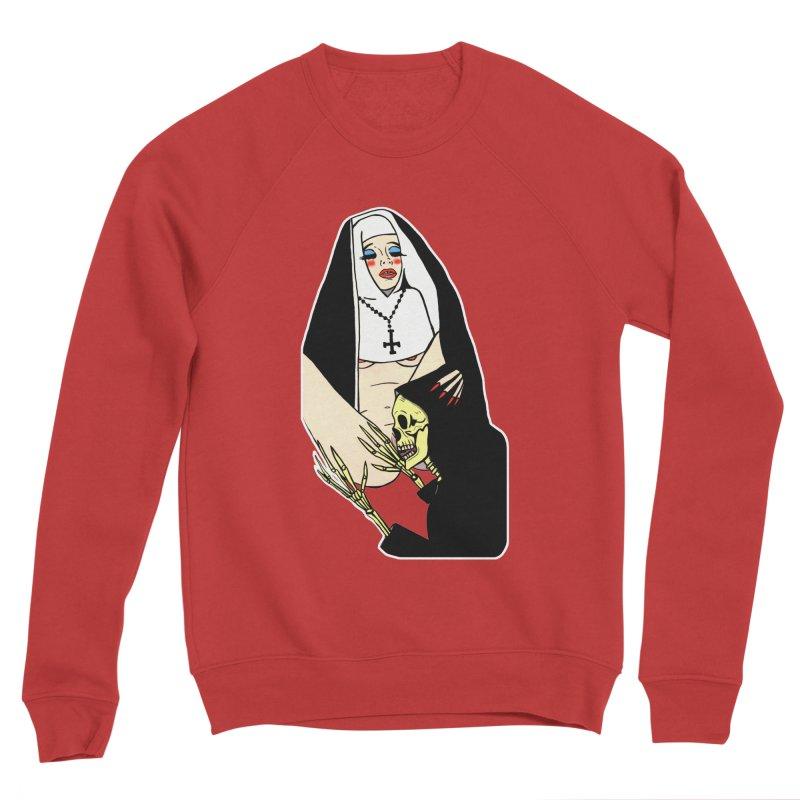 DEATH LICK Women's Sponge Fleece Sweatshirt by Hate Baby Comix Artist Shop