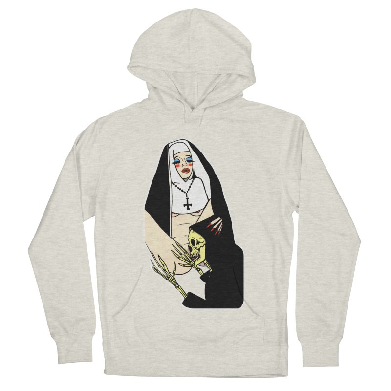 DEATH LICK Women's French Terry Pullover Hoody by Hate Baby Comix Artist Shop