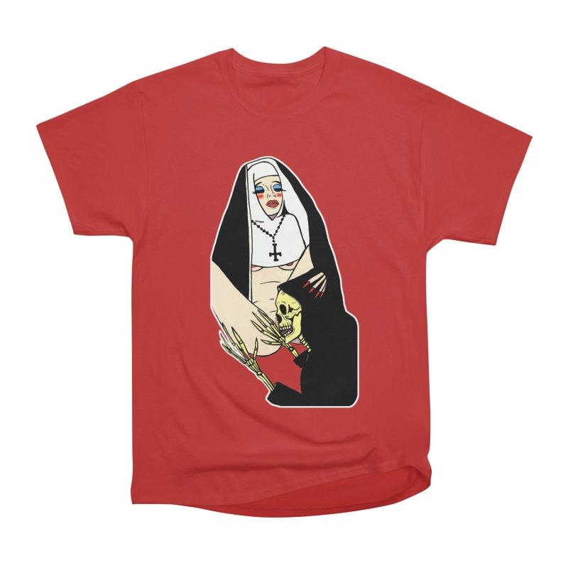 DEATH LICK Women's Heavyweight Unisex T-Shirt by Hate Baby Comix Artist Shop
