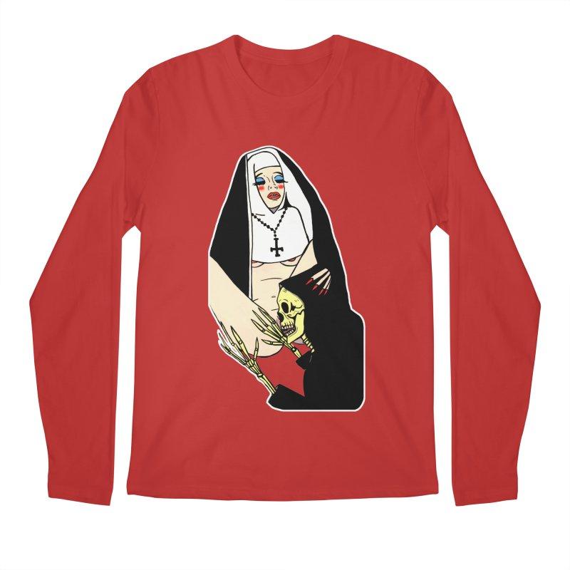 DEATH LICK Men's Regular Longsleeve T-Shirt by Hate Baby Comix Artist Shop