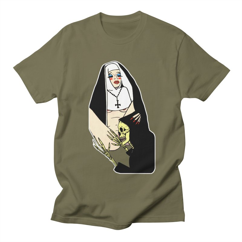 DEATH LICK Men's T-Shirt by Hate Baby Comix Artist Shop
