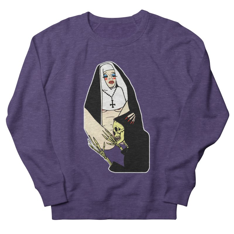 DEATH LICK Women's French Terry Sweatshirt by Hate Baby Comix Artist Shop