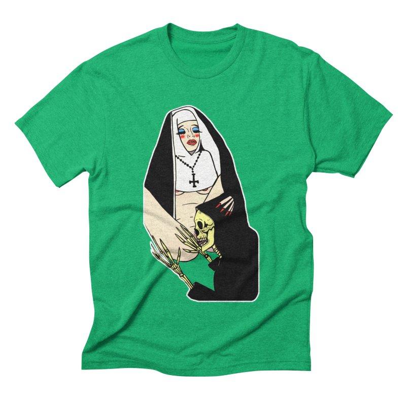 DEATH LICK Men's Triblend T-Shirt by Hate Baby Comix Artist Shop