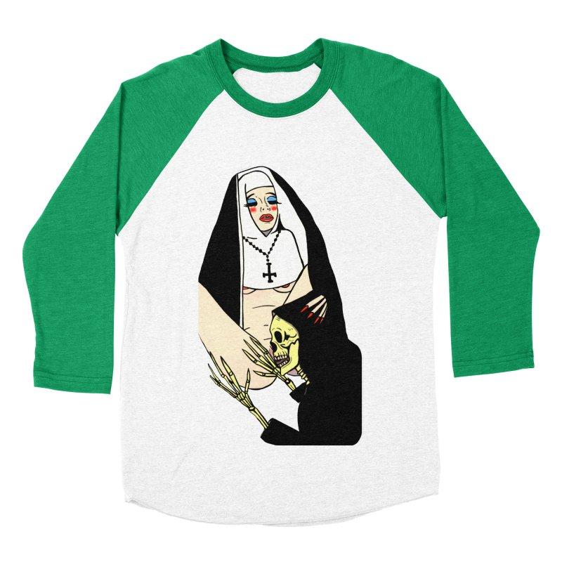 DEATH LICK Women's Baseball Triblend Longsleeve T-Shirt by Hate Baby Comix Artist Shop