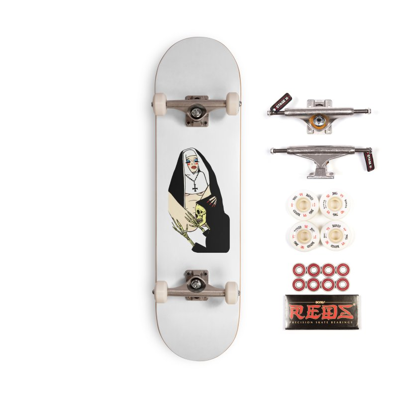 DEATH LICK Accessories Complete - Pro Skateboard by Hate Baby Comix Artist Shop