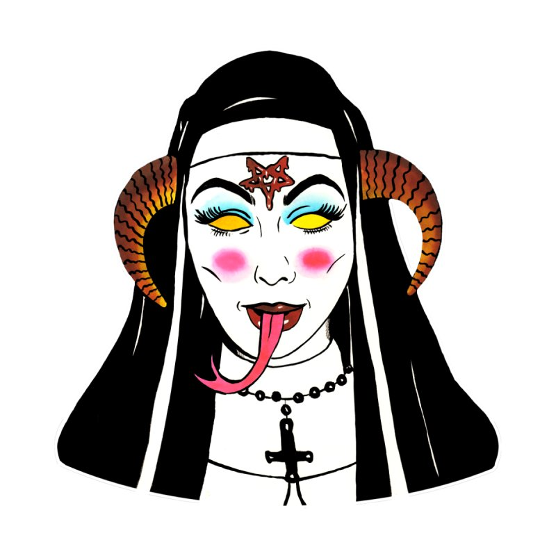 DEMON NUN by Hate Baby Comix Artist Shop