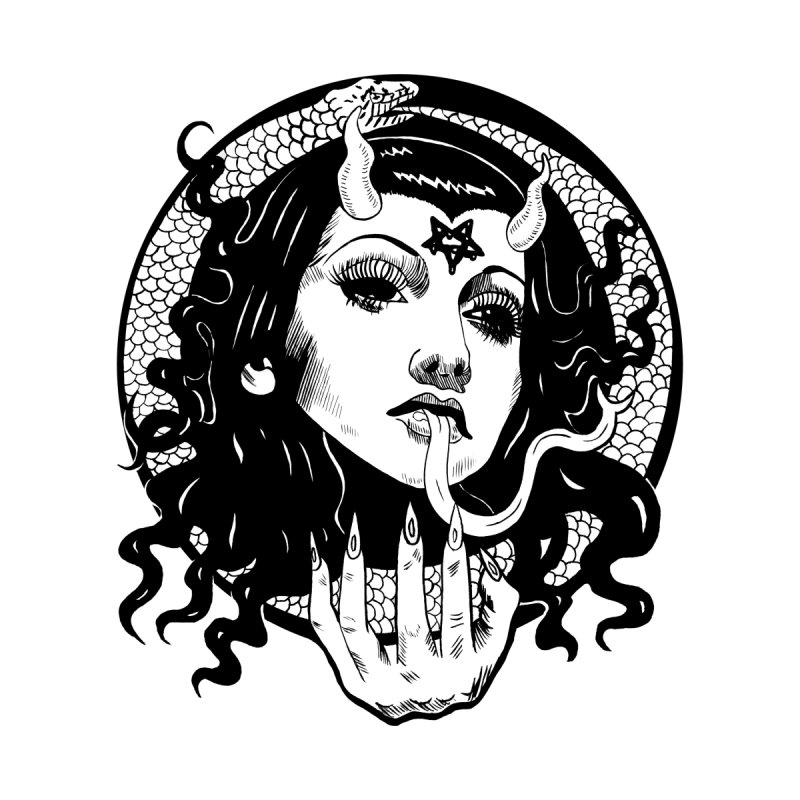 OMEN TEE Women's T-Shirt by Hate Baby Comix Artist Shop
