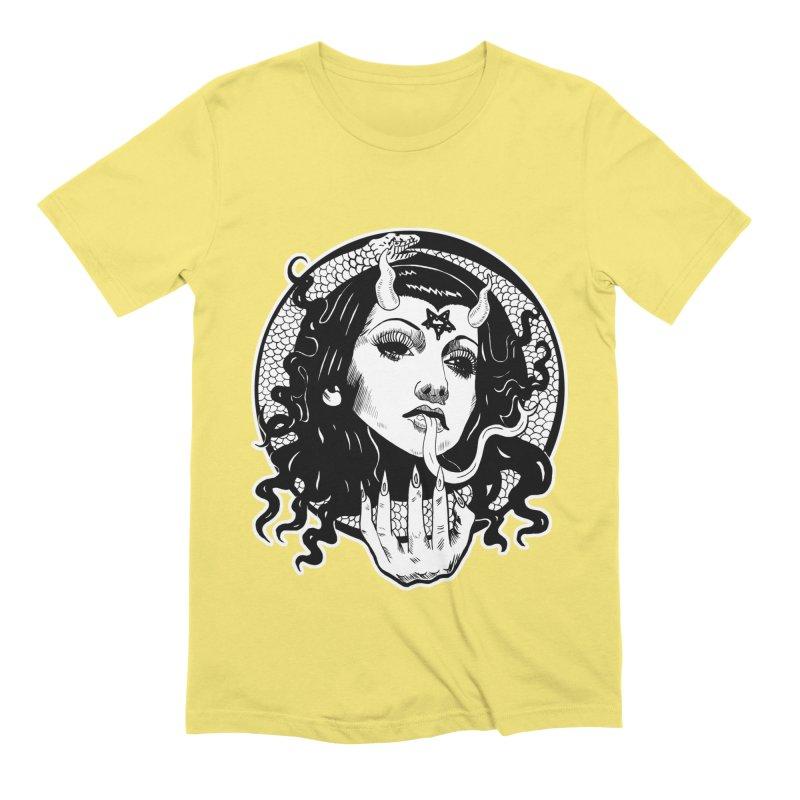 OMEN TEE Men's Extra Soft T-Shirt by Hate Baby Comix Artist Shop
