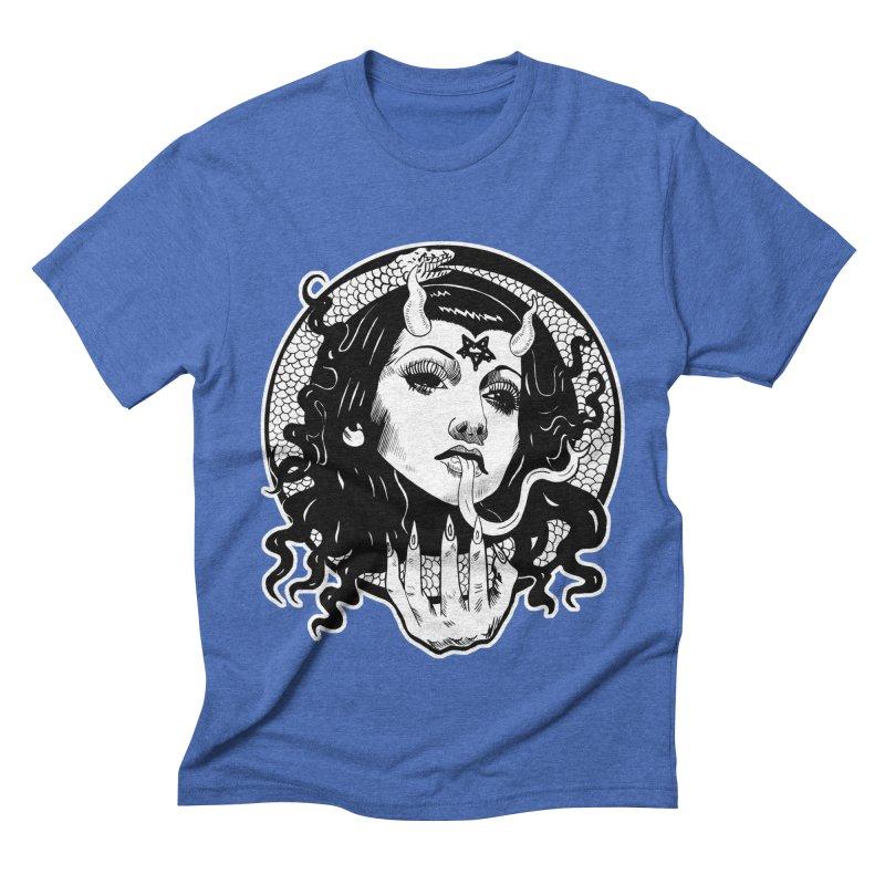 OMEN TEE Men's T-Shirt by Hate Baby Comix Artist Shop