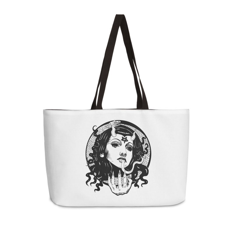 OMEN TEE Accessories Bag by Hate Baby Comix Artist Shop